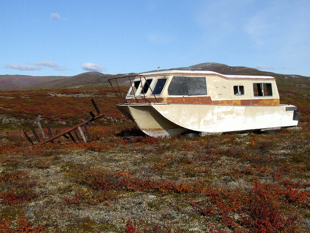 This could fix homelessness. Dry-docked boats as HOUSE-boats (in a RV or Van