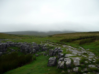 Ingleborough in the cloud - it gets worse later on!!!