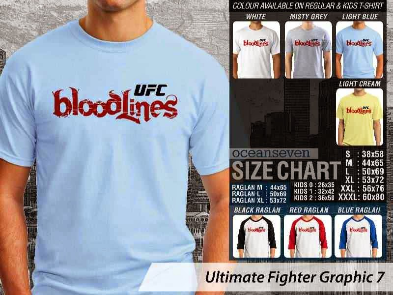Kaos UFC Ultimate Fighter UFC Bloodlines Graphic 7 distro