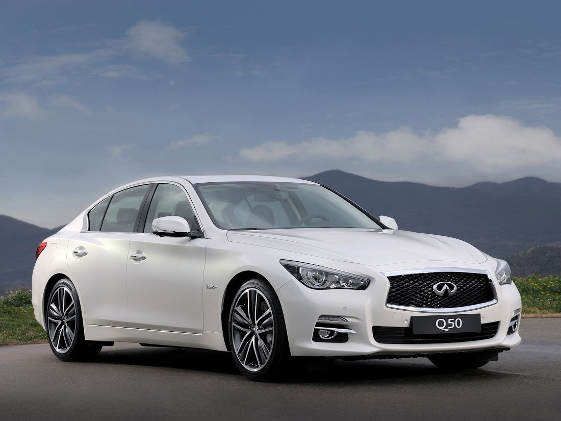 Japanese car photos 2014 Infiniti Q50
