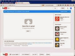 Cara upload ke youtube secara konvensional - pilih video