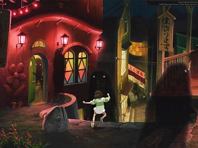 A Viagem de Chihiro, de Hayao Miyazaki