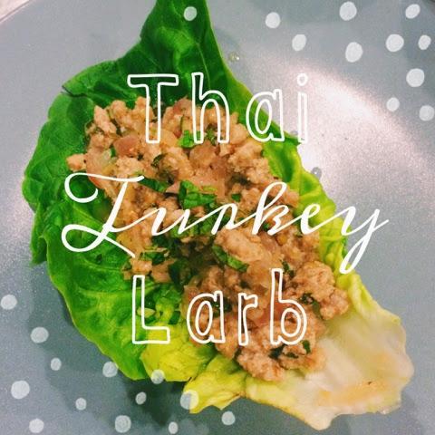 Thai Turkey Larb