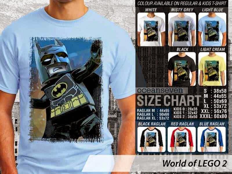 Jual Jual KAOS Lego Gambar Batman distro ocean seven