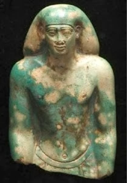 More Stuff: 26th dynasty statue back in the Egyptian Museum