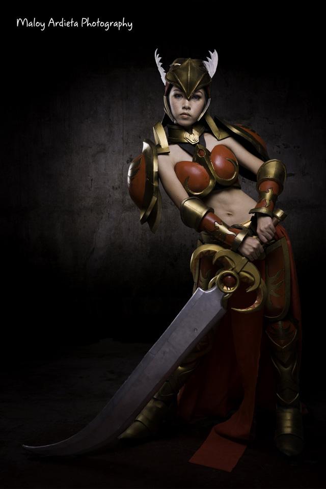 Ailkeene về bộ cosplay trên cả tuyệt vời về Leona - Ảnh 1