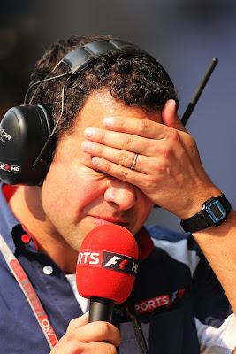 Тэд Кравиц фэйспалмит на Гран-при Индии 2012