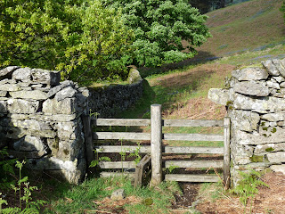 Stile next to Rough Intake Wood