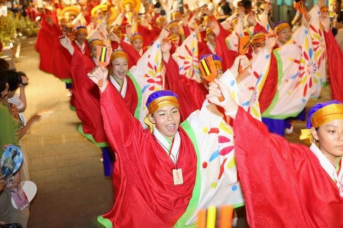 第60回よさこい祭り☆本祭2日目・上町競演場30☆上2目2770