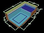 preço piscina calculo área construída