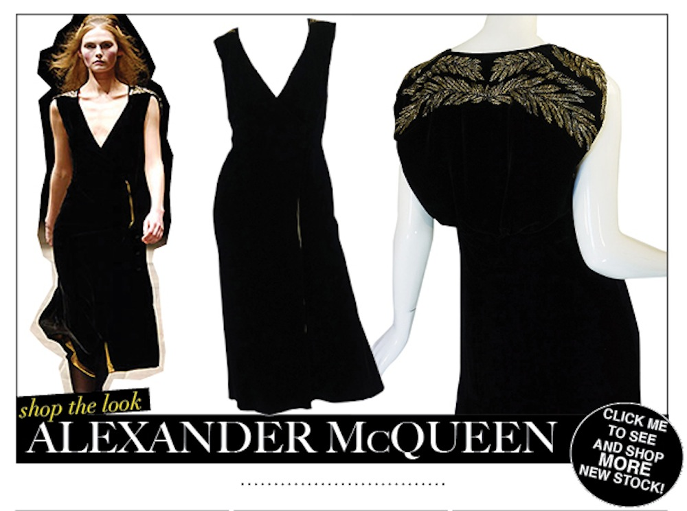 Alexander McQueen and tons more in the shop right now!