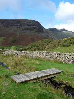 Yewbarrow and Pillar from Wasdale