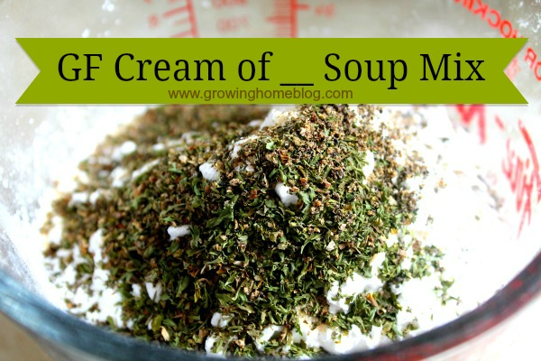 "How To Make Gluten-Free ""Cream Of ____"" Soups"