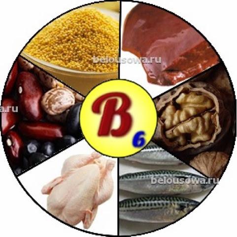 Витамин в6 в пищевых продуктах раза лучше если принимать