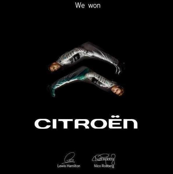 Льюис Хэмилтон и Нико Росберг - Формула Успеха Citroen