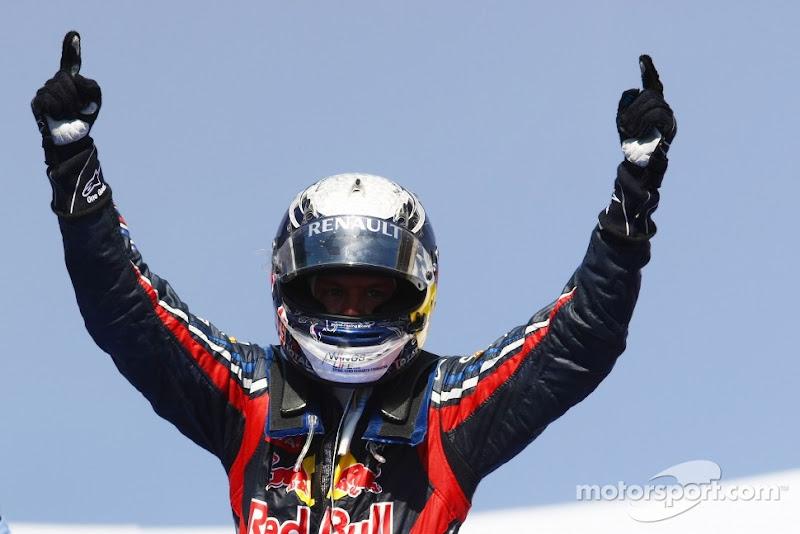 Себастьян Феттель побеждает на Гран-при Европы 2011