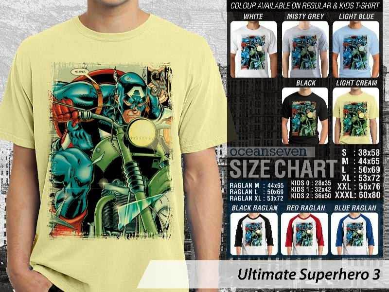 KAOS captain america 3 Ultimate Superhero distro ocean seven