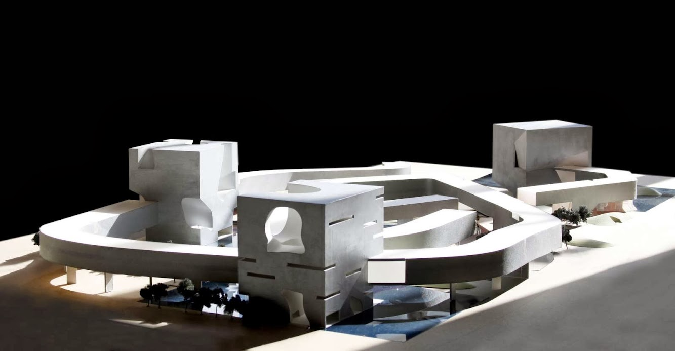 Steven Holl Wins Qingdao Culture and Art Center