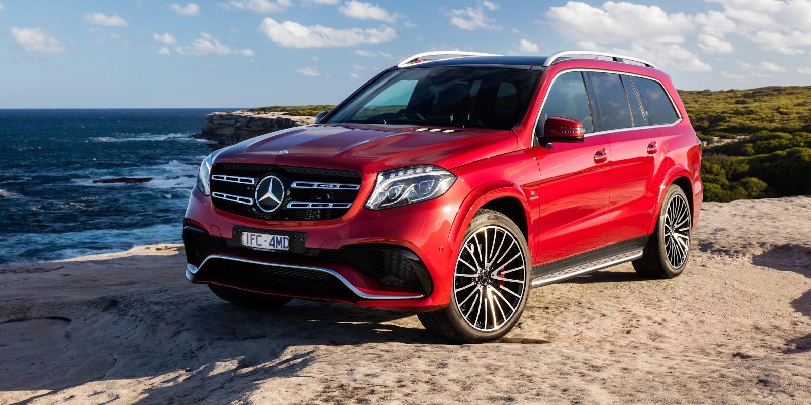 Mercedes Benz GLS là chiếc xe có khả năng vượt mọi địa hình