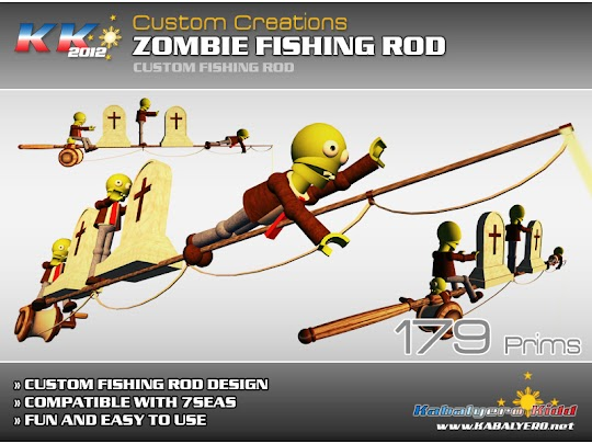 *KK* 2012 Zombies Fishing Rod