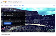 Google Photography Prize