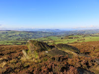 The Roaches Ridge Looking To The Cloud