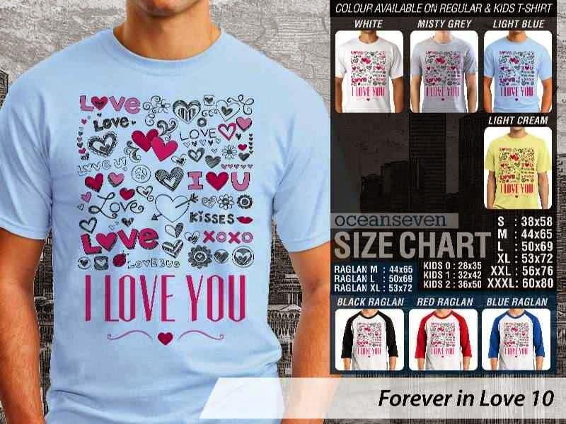 KAOS Couple I love you |KAOS Forever in Love 10 distro ocean seven