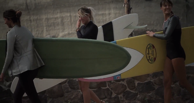 Jeep Italia Tells A Story Of 3 Creative Women Who Love Surfing In Part 1 Of Girls Girls Girls