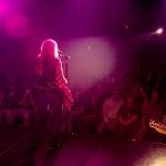Pink guitar, pink lights