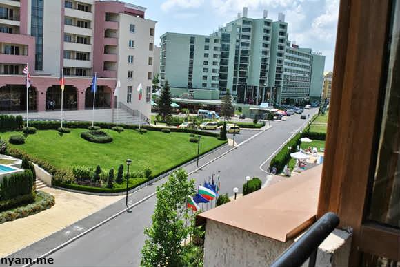 вид с балкона на марвел - посейдон