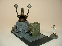 Spinning n-field generator Mad Science war game terrain and scenery