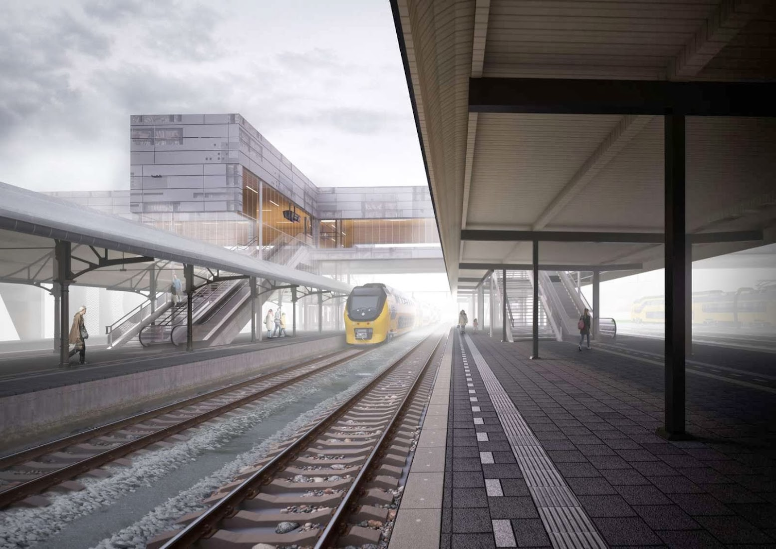Alkmaar Station by Strukton