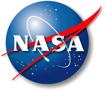 Description: Picture of NASA logo. Action: Select (click) picture to view it enlarged.