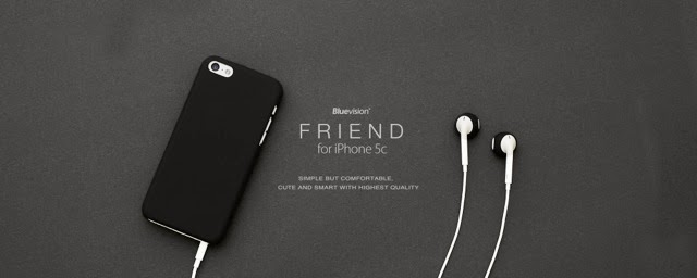 bluevision friend apple iphone 5c case by fnte website www.fnte.com.tw
