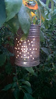 DIY soup tin lanterns
