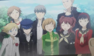 Persona 4 group photo investigation team