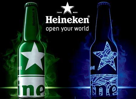 New Limited Edition Heineken Star Bottles