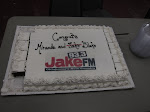 we get a lot of cakes on the road...they hardly ever get eaten