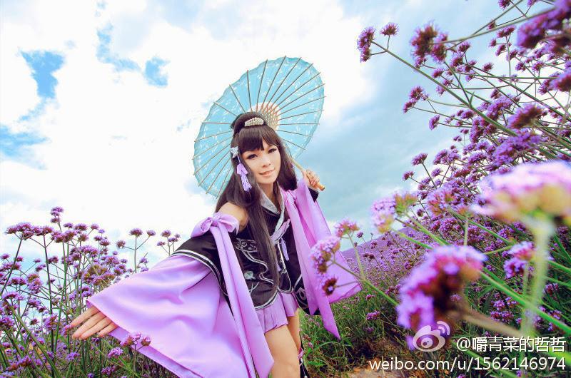 Nữ hiệp Vạn Hoa dạo chơi giữa rừng hoa