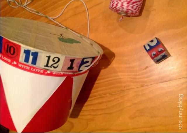 DIY toy drum. Tambor para niños