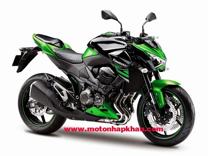 Kawasaki Z800 ABS 2015 Mau Xanh