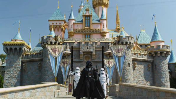 "Darth Vader ""I'm Going To Disney World"" Again"