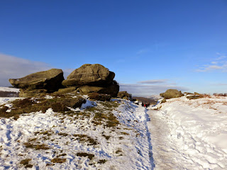 Rocks On Froggatt Edge