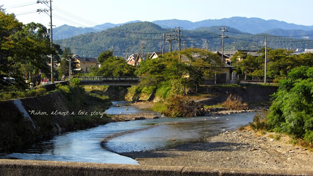 A nord del Kamogawa