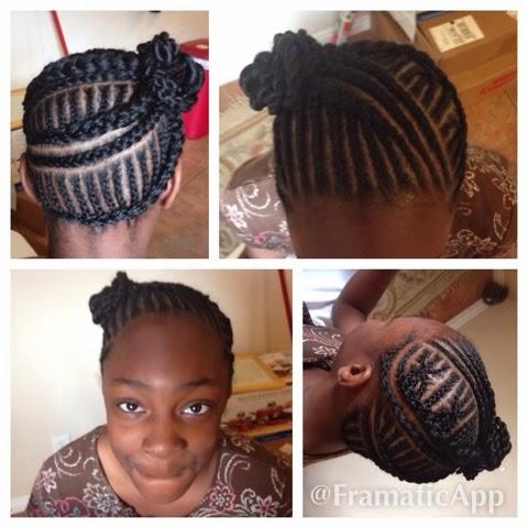 cornrows braids extensions: cornrows and twist