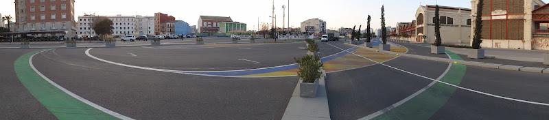городская трасса Формулы-1 в Валенсии