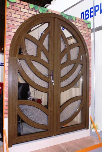 Двери - цветок лотоса