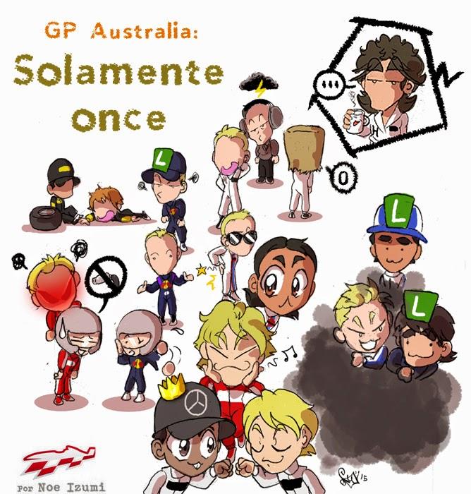 чиби-пилоты Noe Izumi по Гран-при Австралии 2015