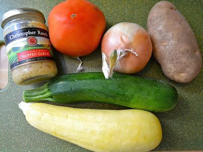 Bütün sebzeler