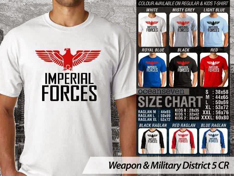 KAOS Militer Imperial Forces Weapon & Military District 5 distro ocean seven